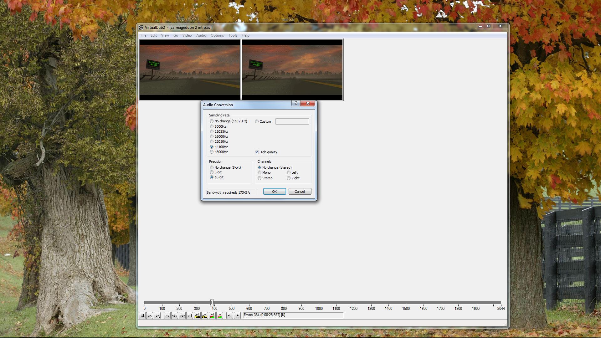 02 - Conversion audio VirtualDub.png