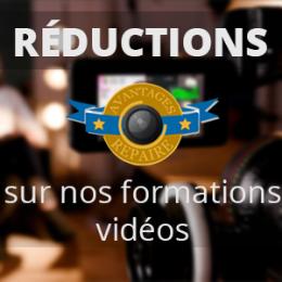 Formations vidéos en réductions