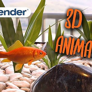 3D Fish animation - BLENDER eevee - YouTube