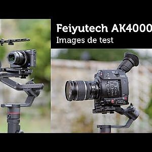 TEST Feiyutech AK4000 Images de test - YouTube