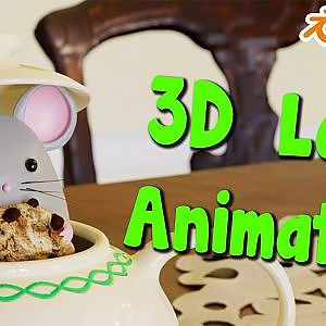 3D loop animation- BLENDER Cycles - YouTube
