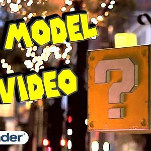 3d model in video - BLENDER & After effects - YouTube