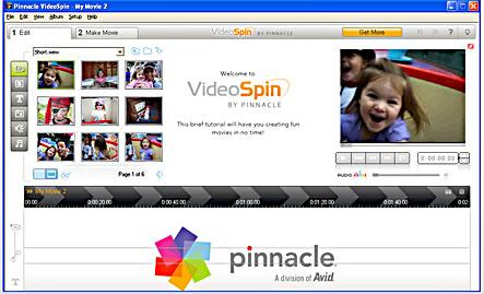 PINNACLE XP WINDOWS GRATUIT GRATUIT VIDEOSPIN TÉLÉCHARGER