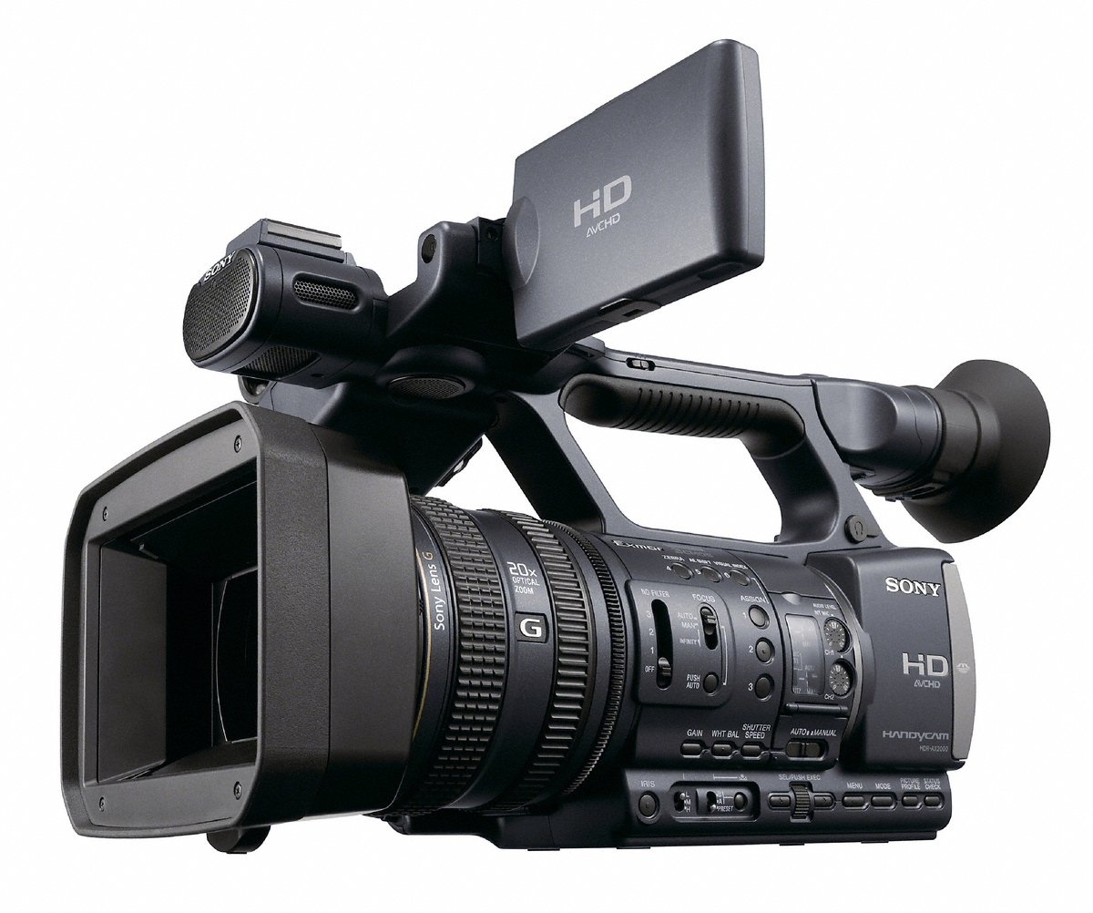 camescope amateur sony hdr ax2000 avchd et prise xlr news. Black Bedroom Furniture Sets. Home Design Ideas