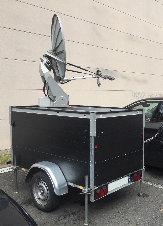 KASAT motorized antenna AVL Technologies