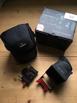 VENDS Varavon Multifinder Uni Plus for Canon1DC Nikon D4 convient pour 5D ou autres