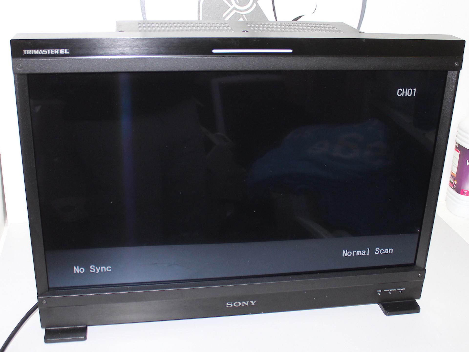 Moniteur Full HD 25', TRIMASTER EL OLED Sony BVM-E250A