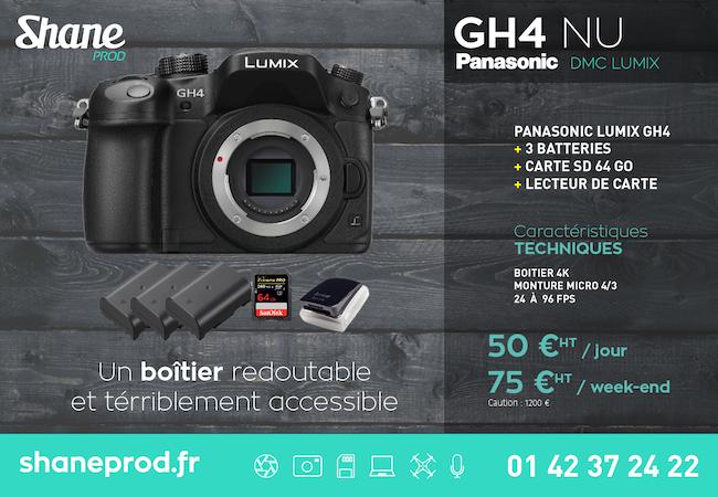 Location GH4 - Boîtier Nu - Locations