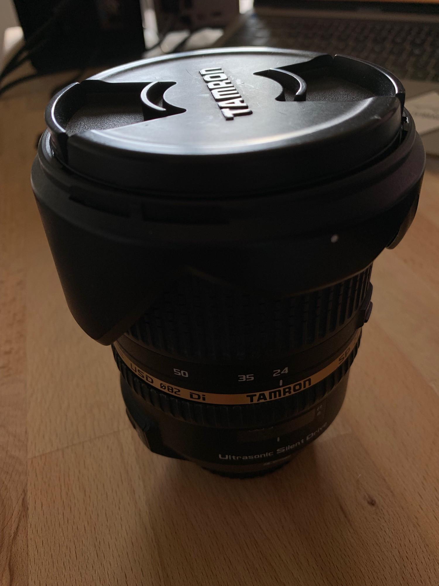 Tamron SP 24-70 mm f/2,8 DiVC USD pour Canon