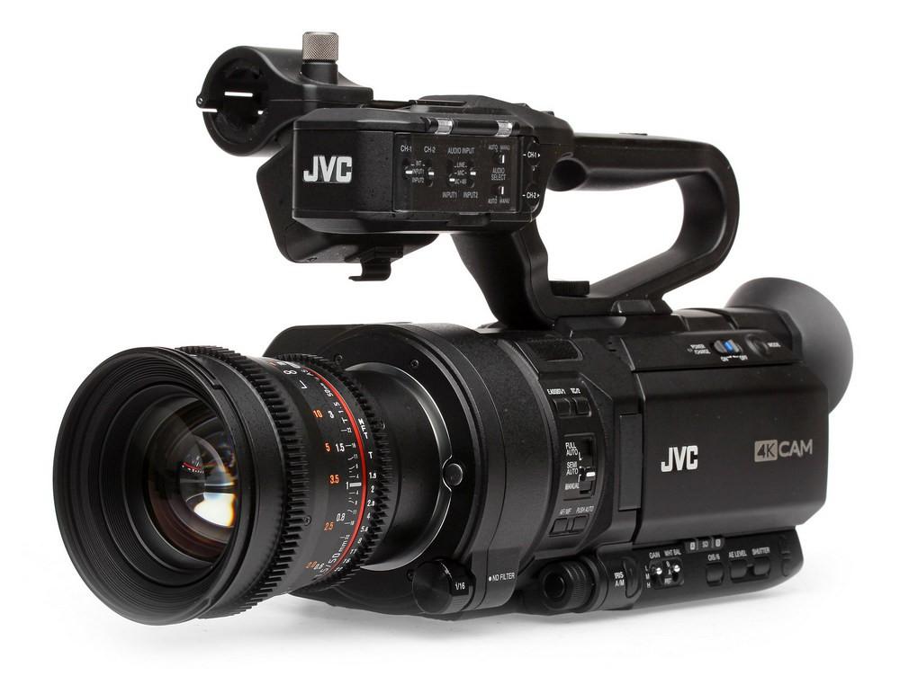 JVC GY-LS300 avec 50mm Rokinon
