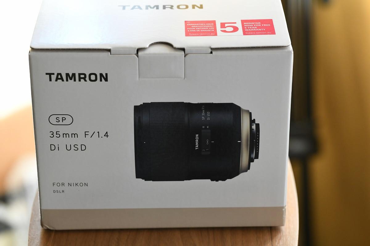 Tamron 35mm focale fixe F1.4 pour reflex Nikon