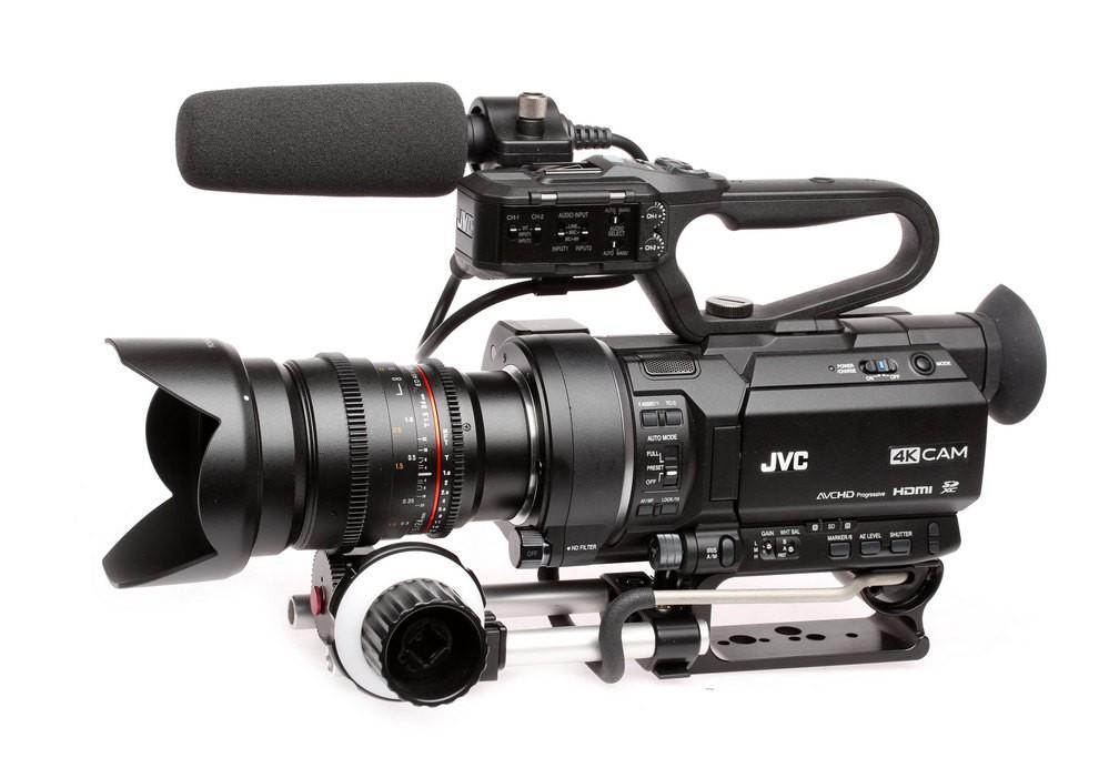 JVC GY-LS300 avec follow focus