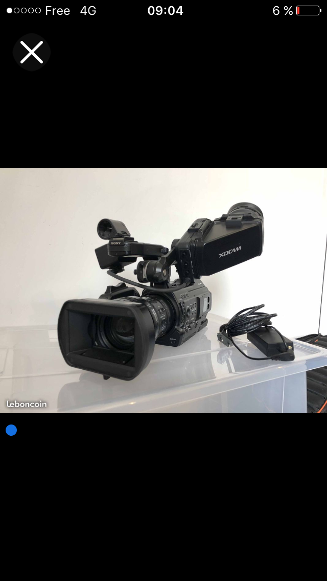 Camera sony pmw300-k1