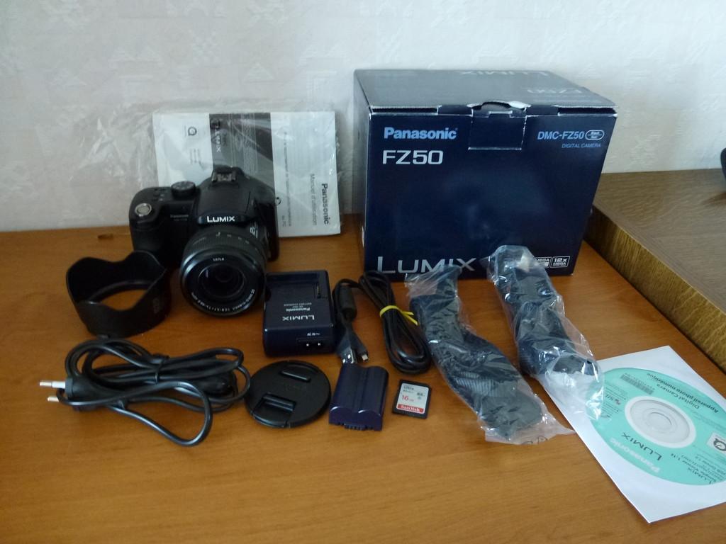 Panasonic DMC-FZ 50