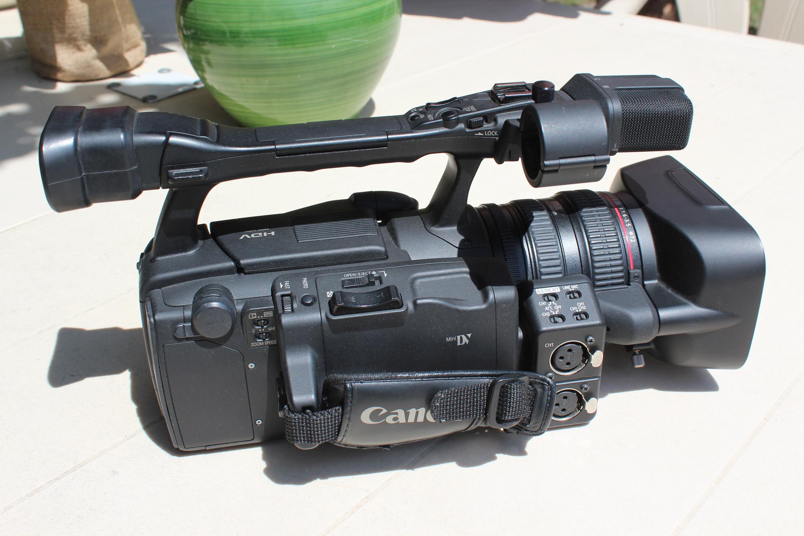Caméra Canon XH A1