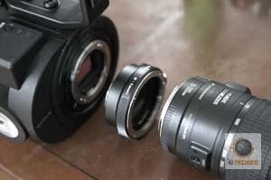 Sony Nex-FS700 bague adaptation