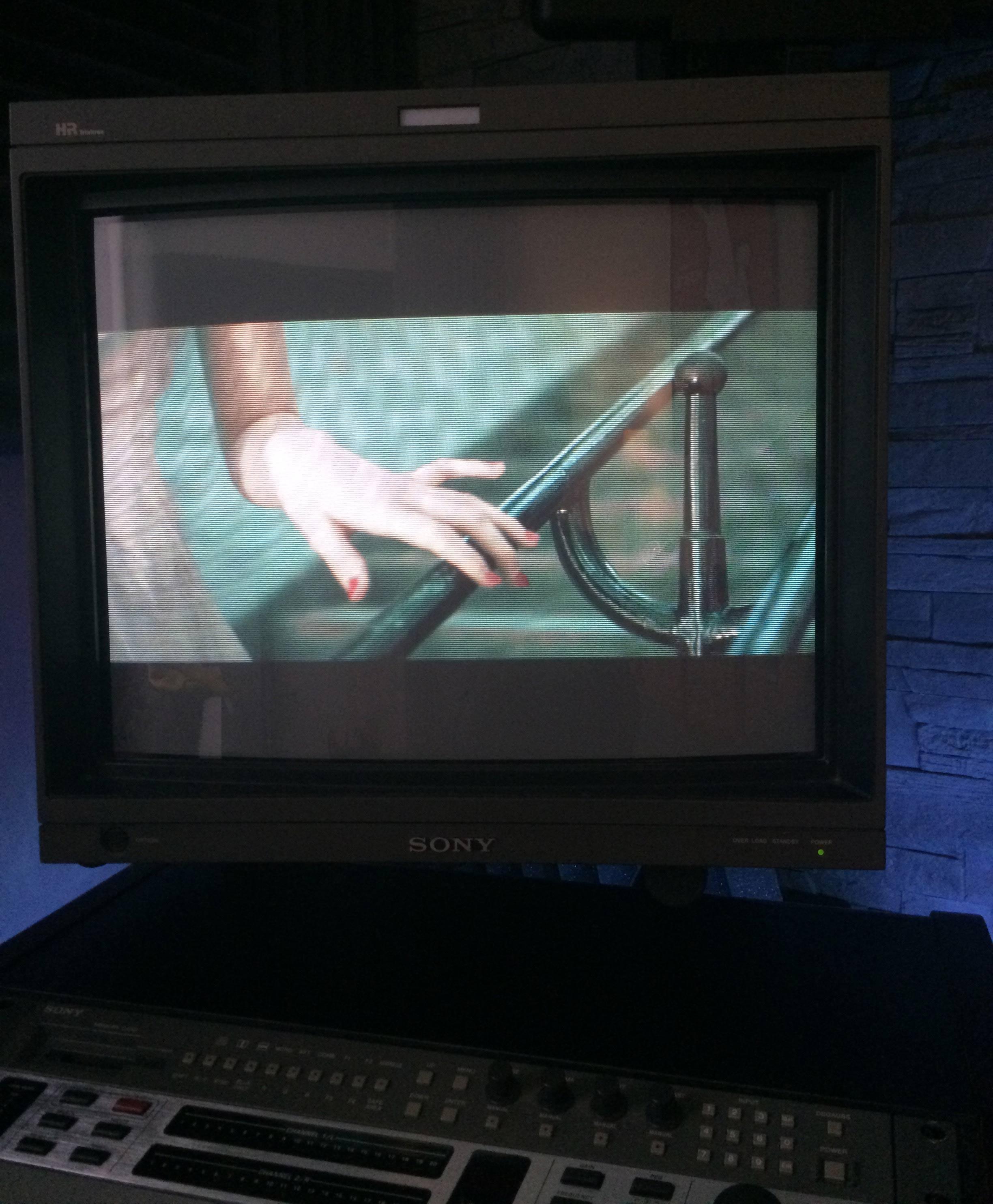 Annonce occasions vends moniteur broadcast sony crt 20 for Moniteur montage video