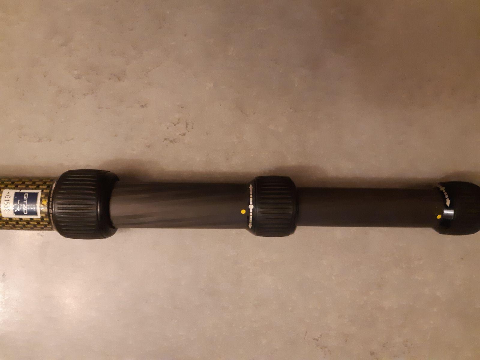 Perche carbone GITZO 2,60 m