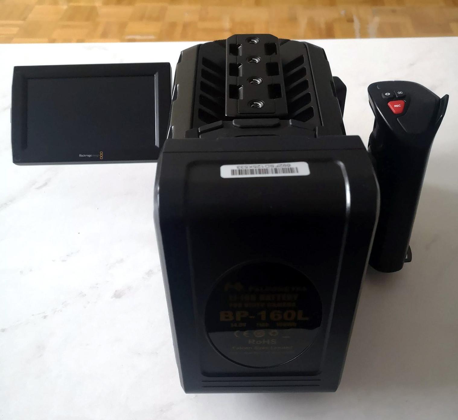 Caméra Blackmagic URSA Mini 4.6K EF