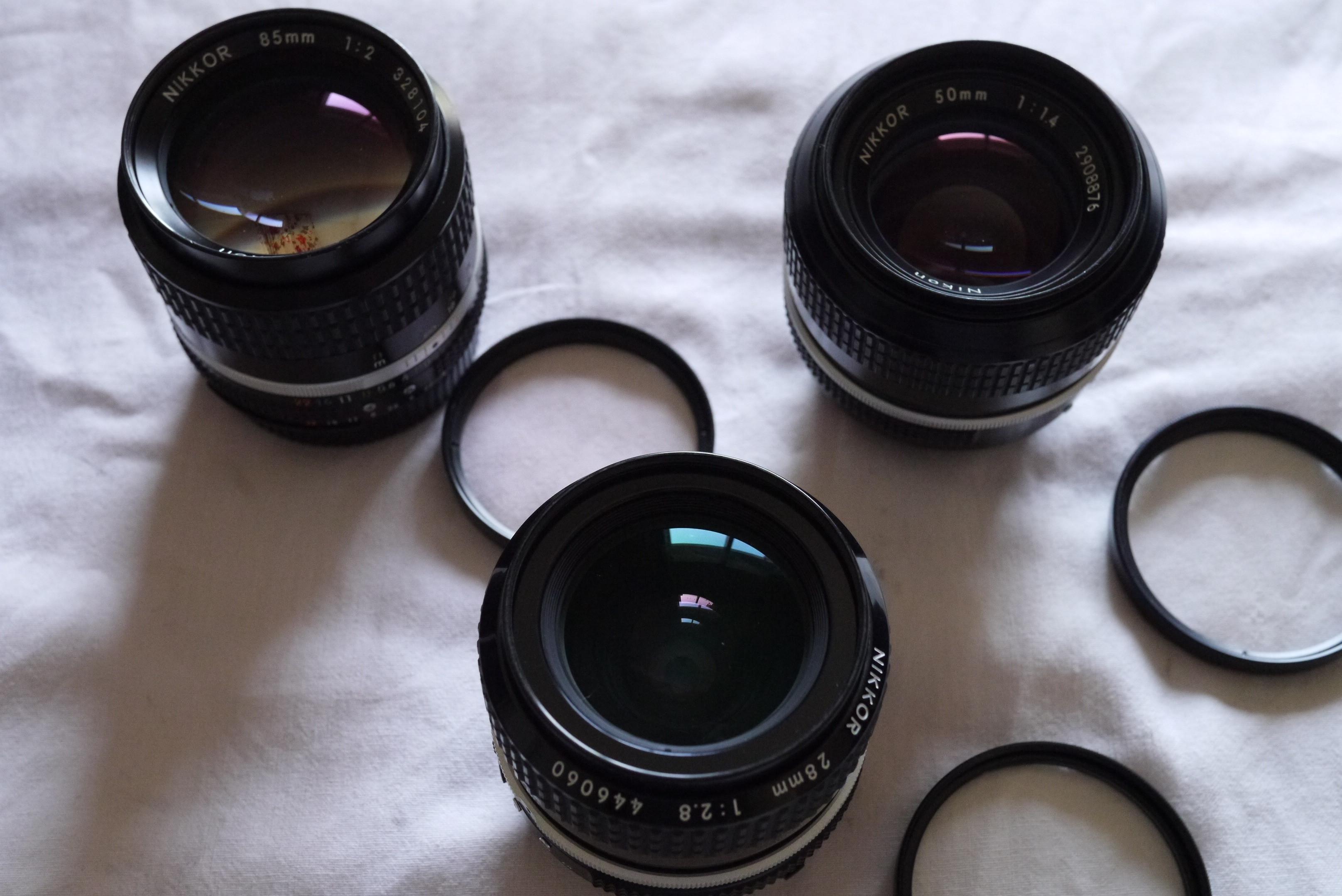Optiques NIKKOR AIS