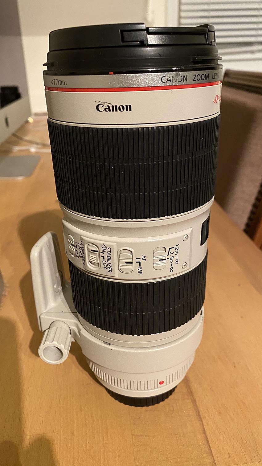 Objectif Canon 70-200 F2.8 L IS USM