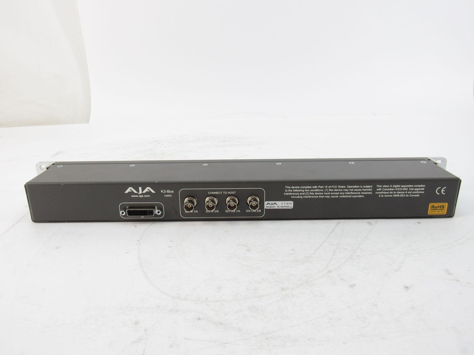 AJA Kona 3G + AJA Breakout K3-Box + cablage - TBE