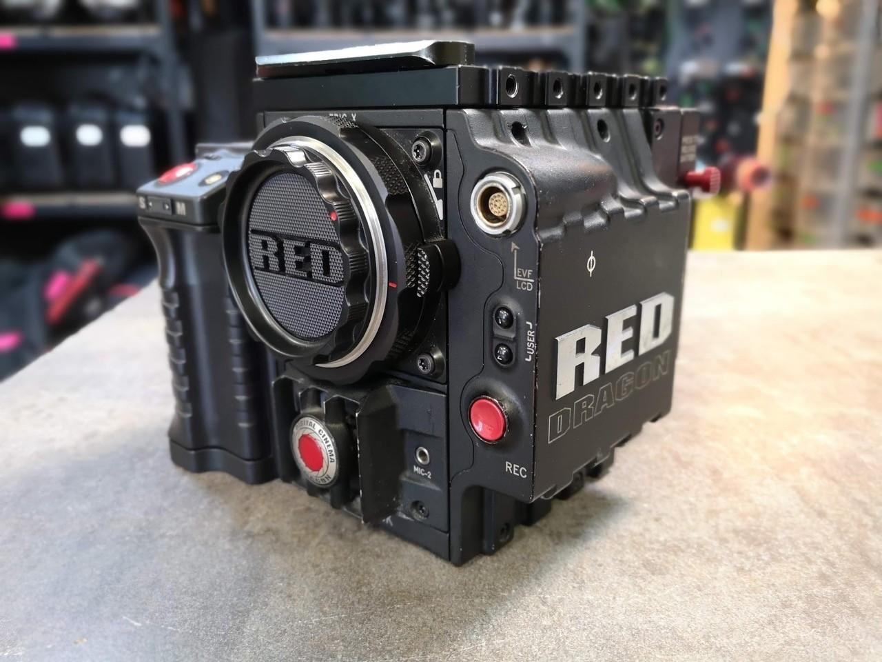 Pack Camera RED EPIC DRAGON 6k