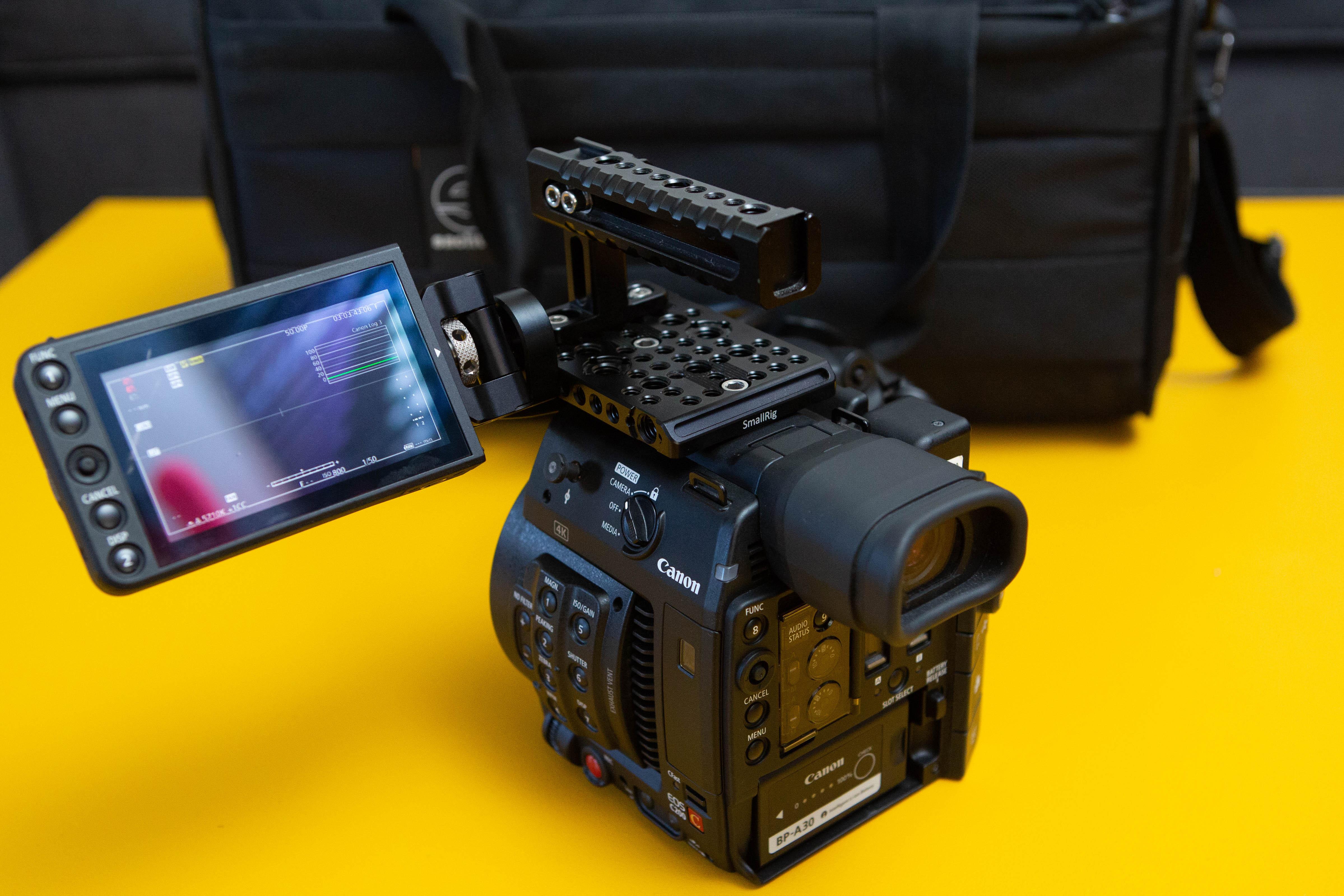 Camera 4K Canon Cinema EOS C200