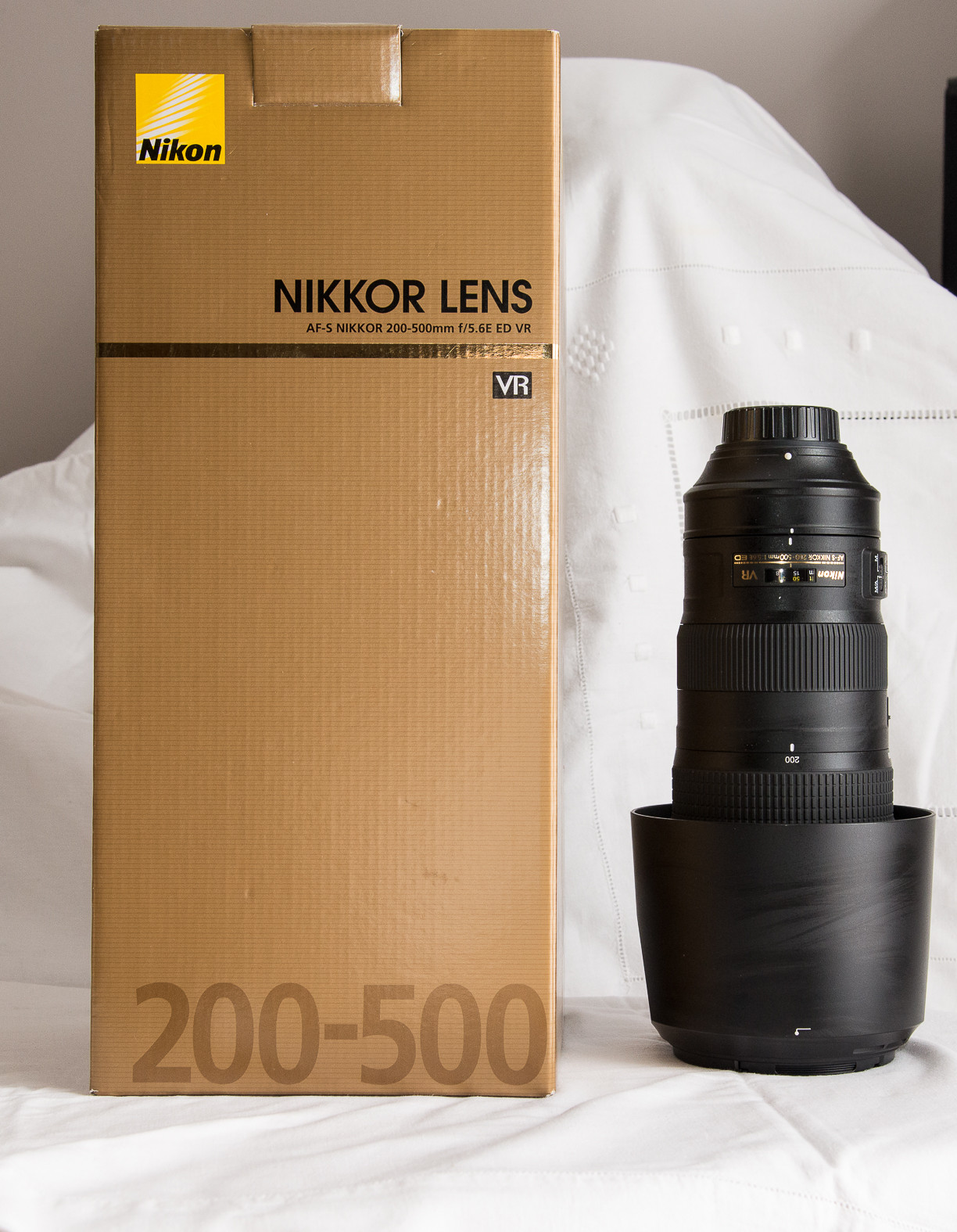 Objectif Nikon 200-500mm f/5.6