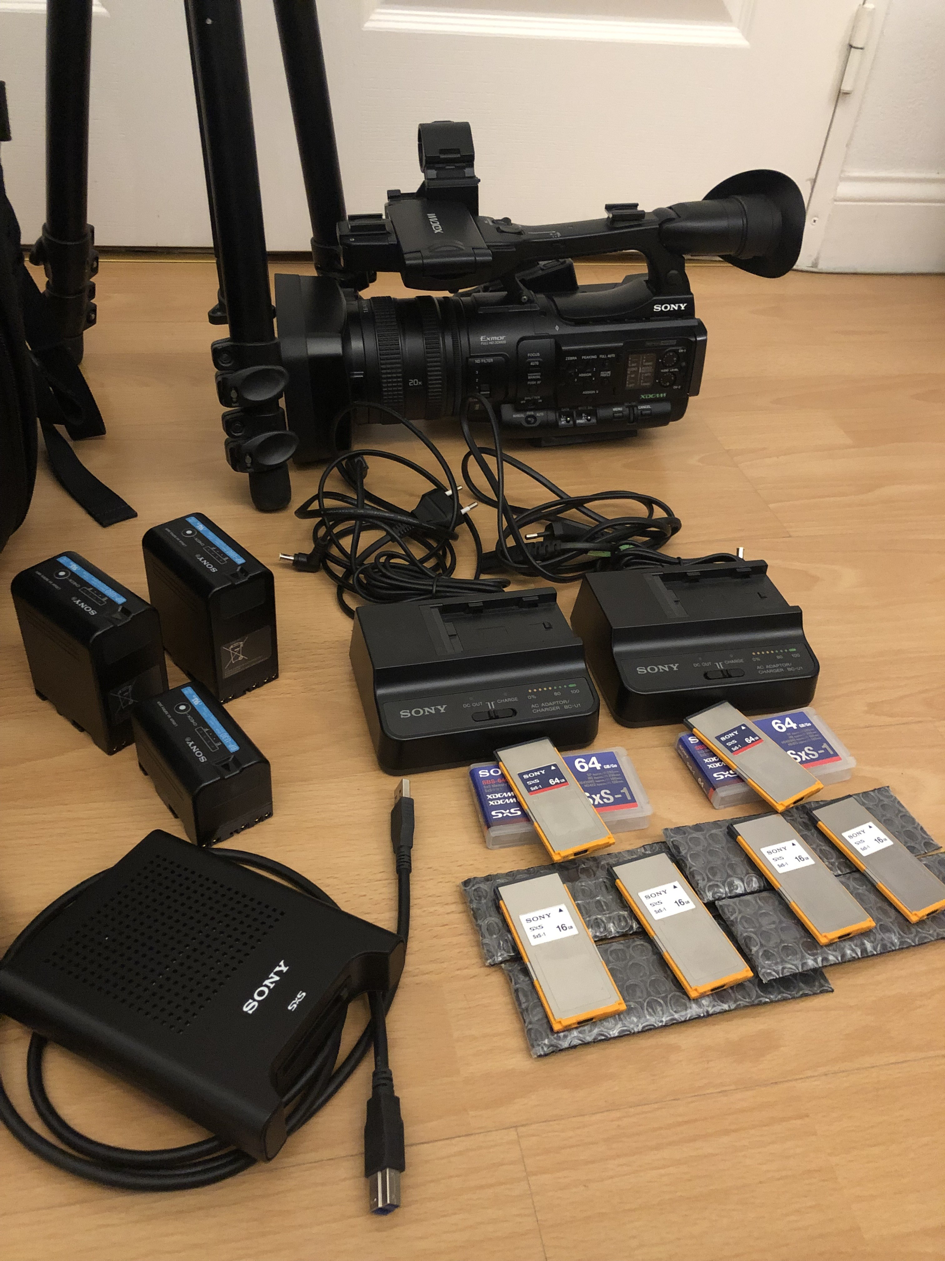 Sony PMW-150 + accessoires