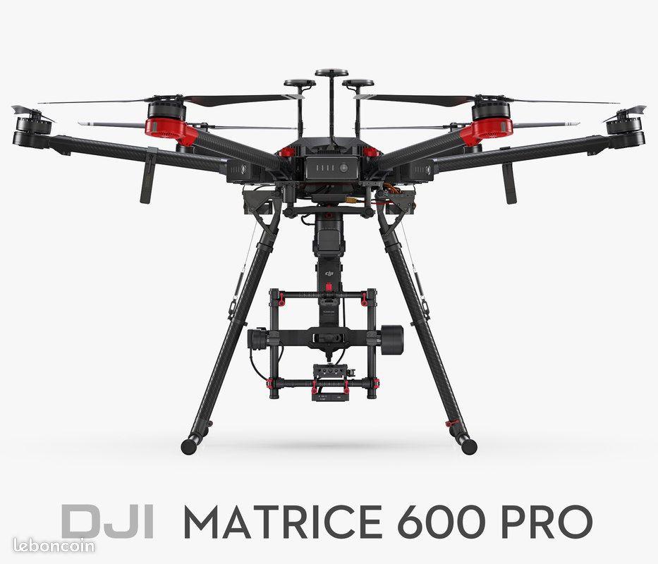 DRONE DJI M600 PRO + STABILISATEUR RONIN