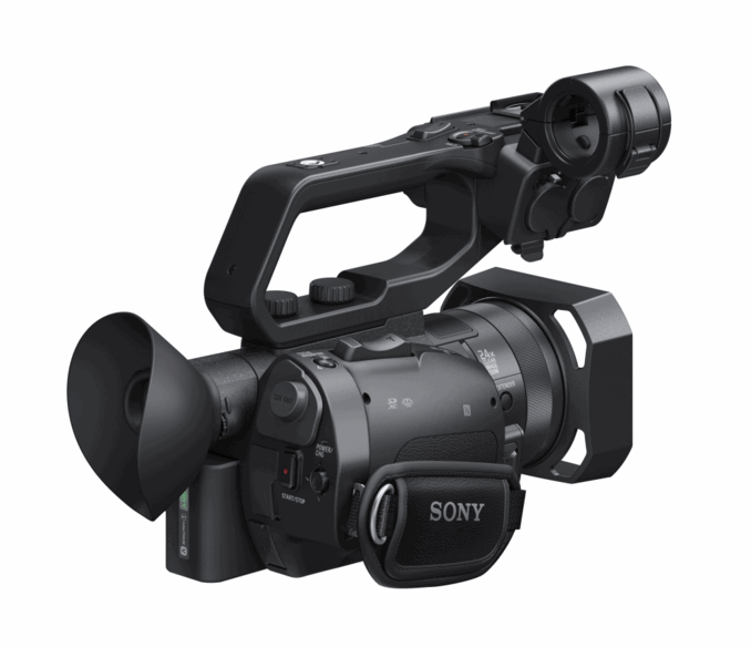 Sony X70 droite arriere