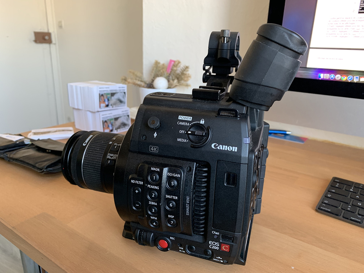 Caméra professionnel Canon C200
