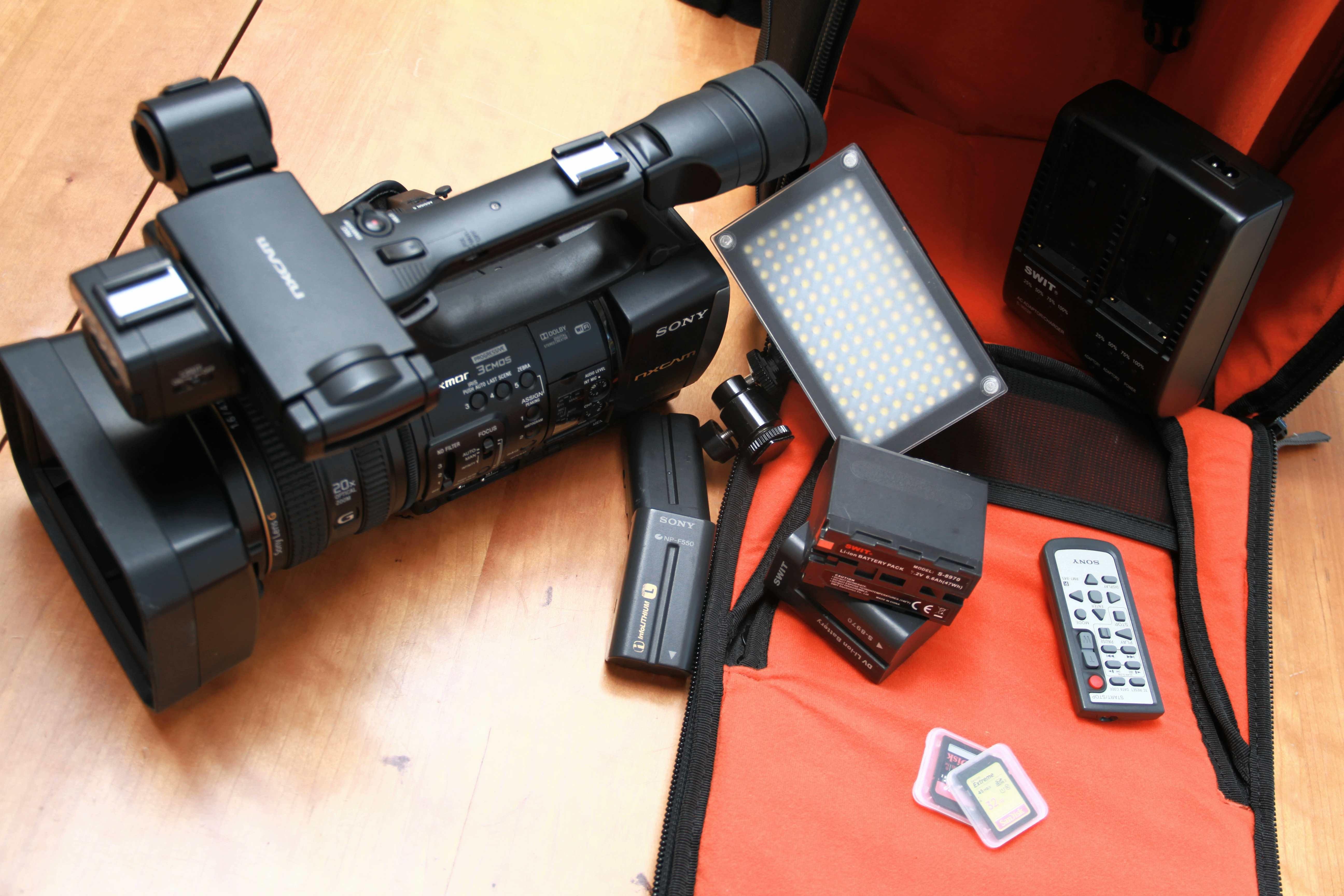 VENDS SONY HXR-NX3 full HD VENDU