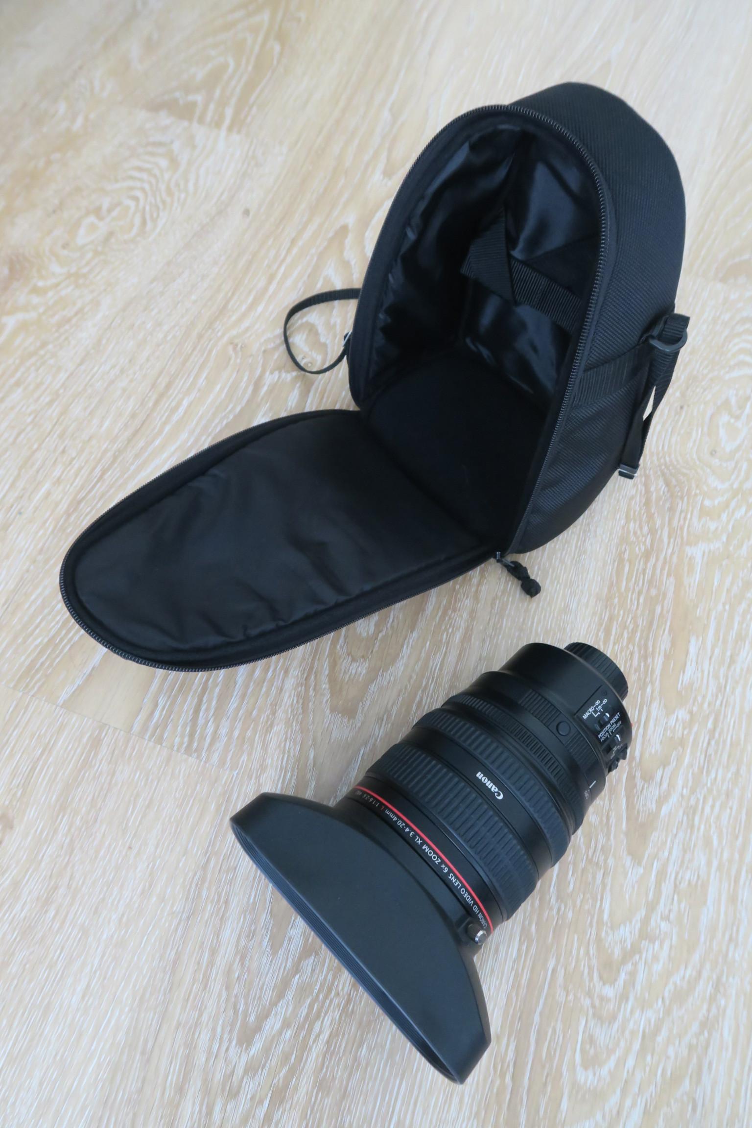 Objectif Canon 6x Zoom XL 3.4-20.4mm L IS