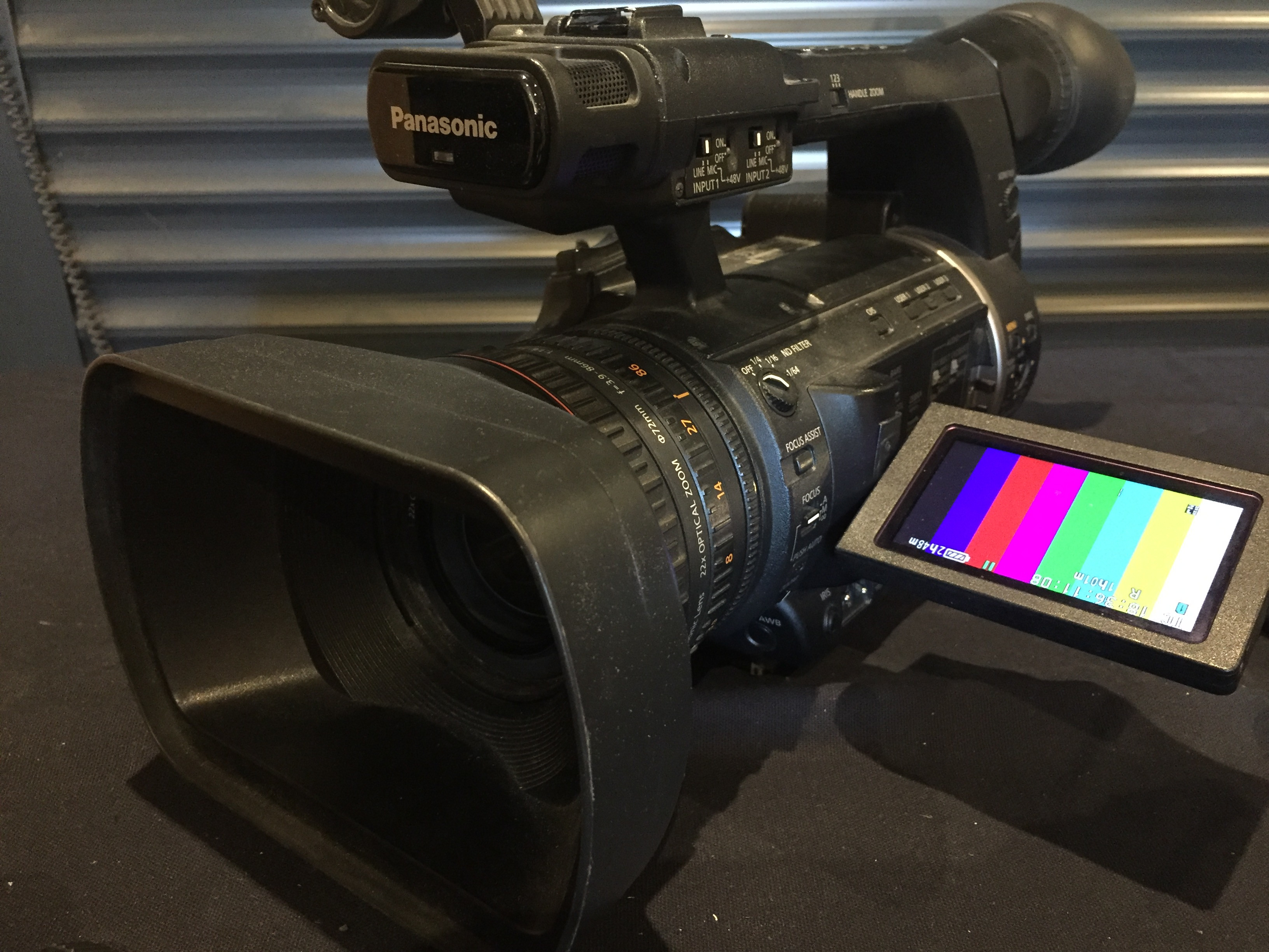 Camescope HD Panasonic AC160