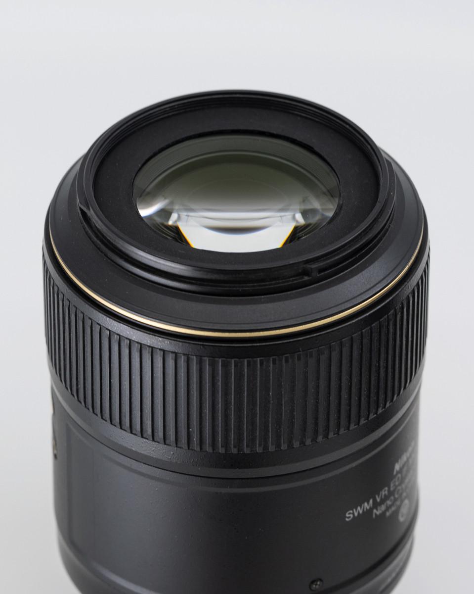 Objectif Nikon 105mm 2.8 G ED VR pour macro et portrait