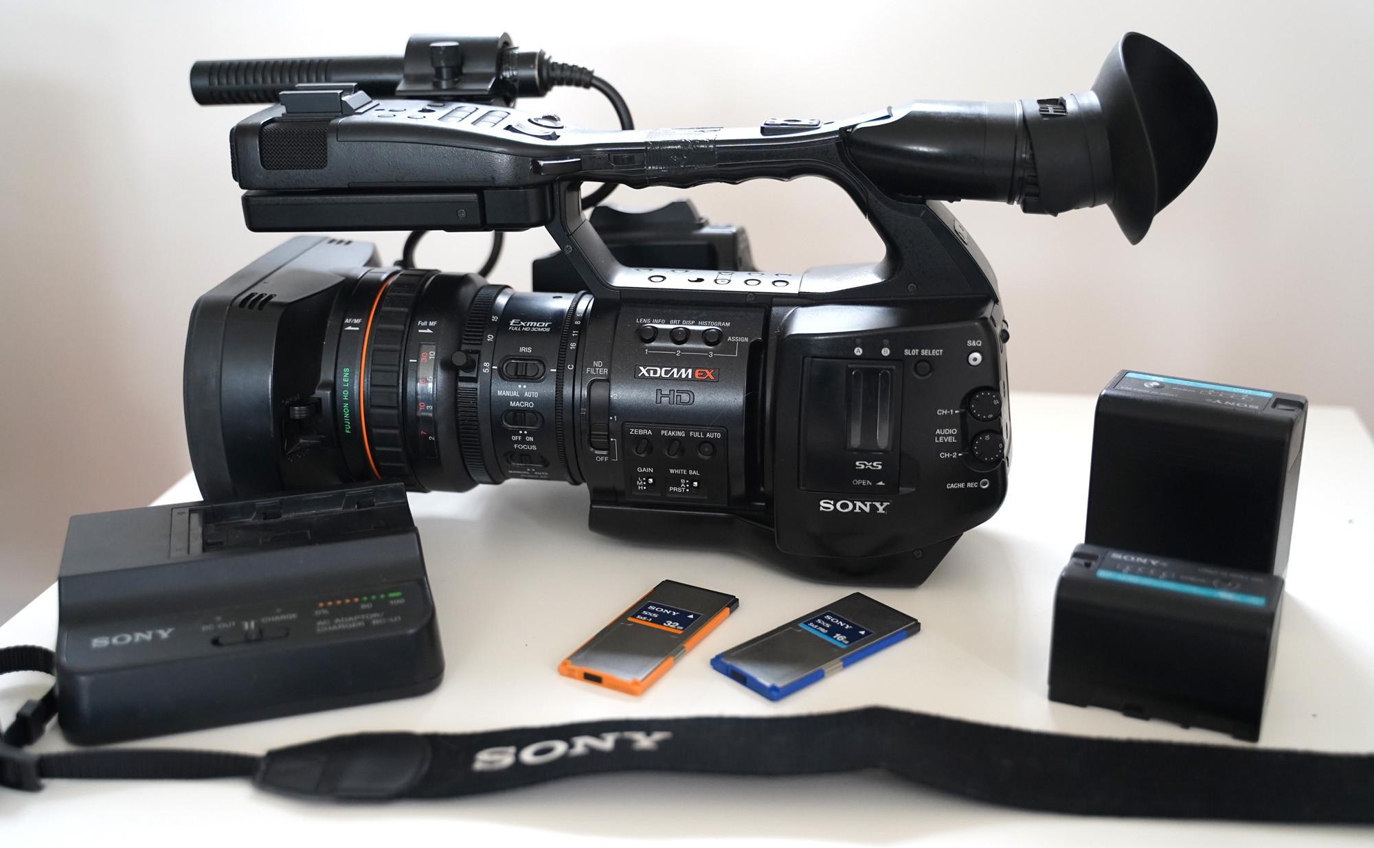 Caméra Sony EX1r