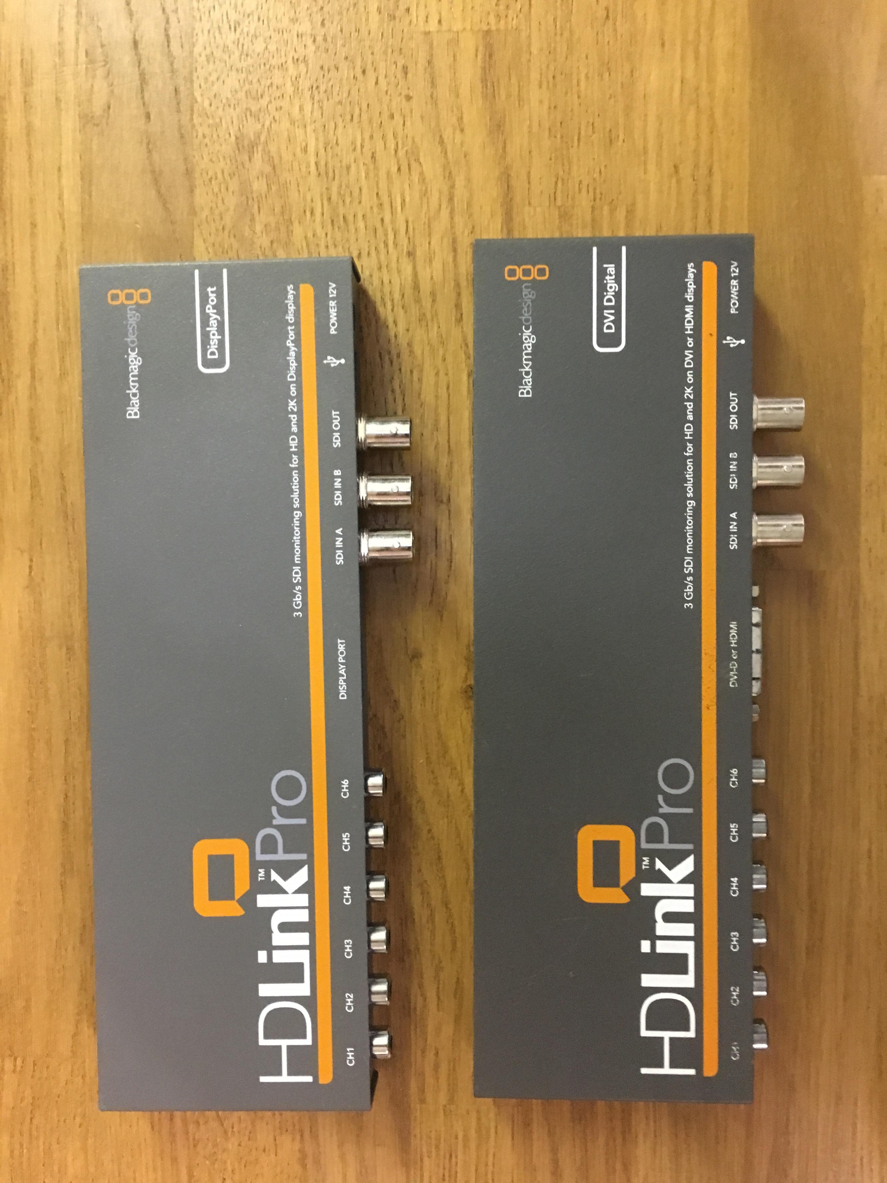 BlackMagic HD LINK
