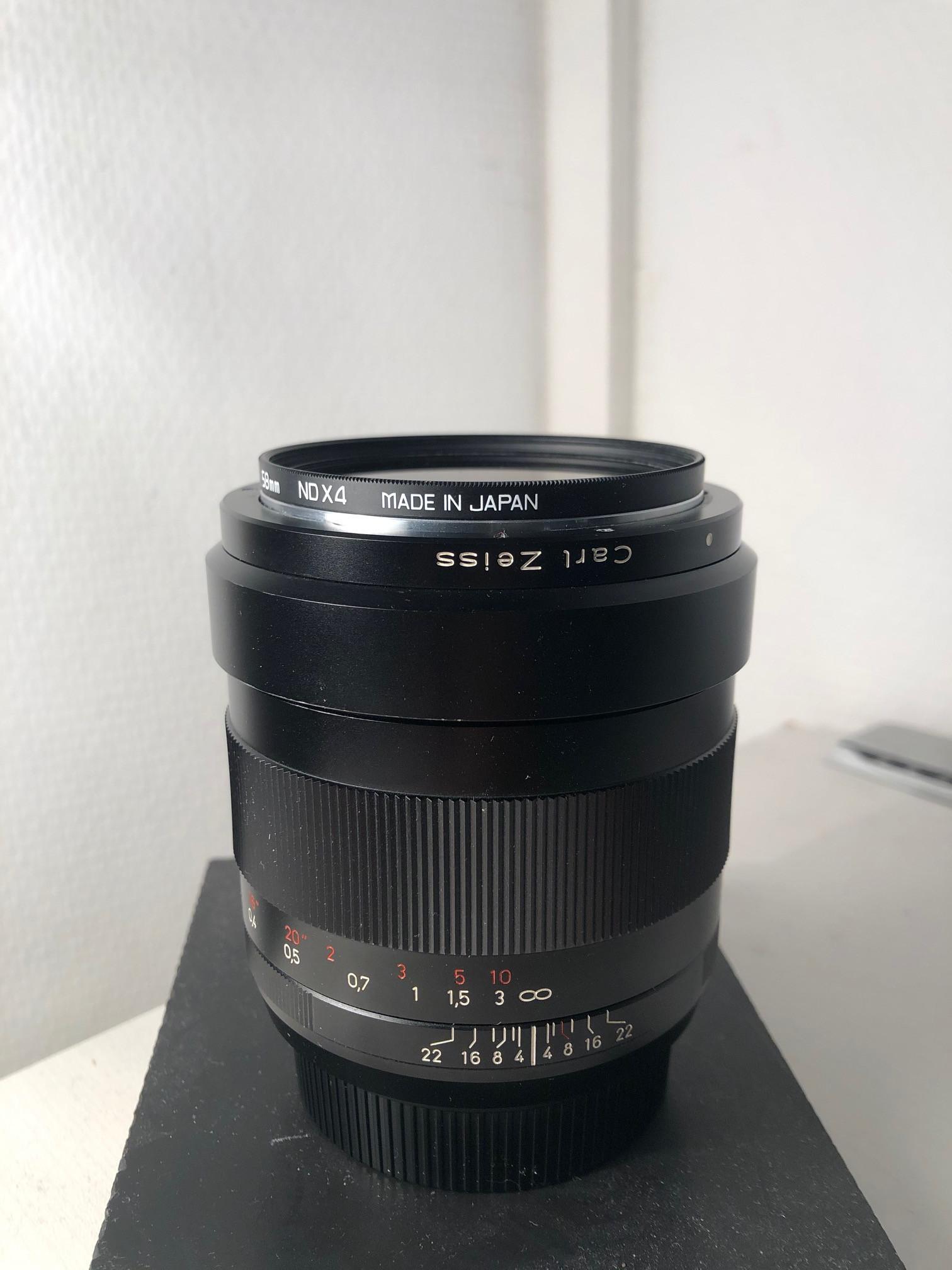 Objectif Carl Zeis Distagon 2 / 35mm - Monture ZE Canon
