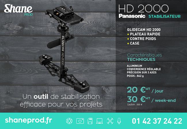 Location de Glidecam HD 2000 - Locations