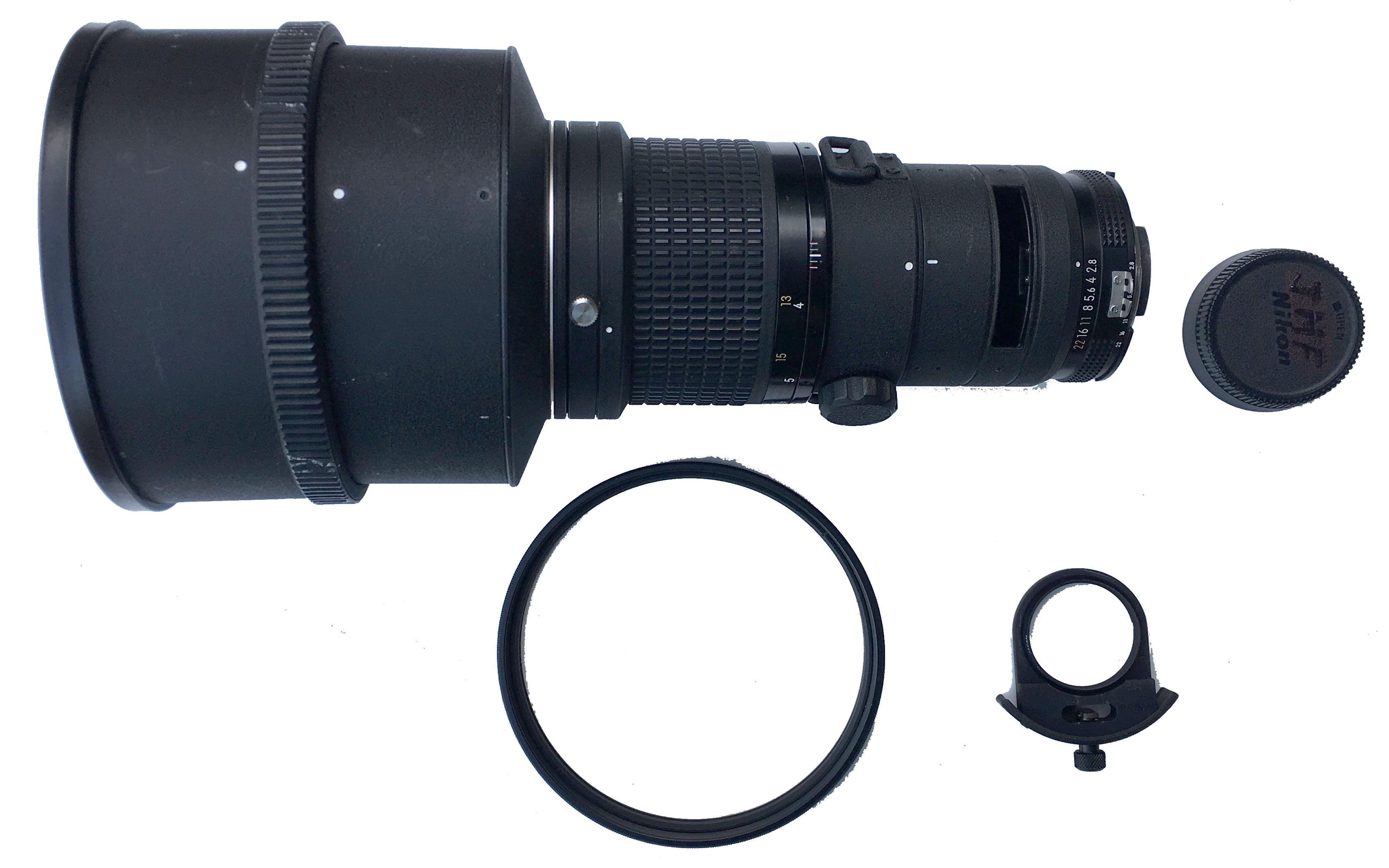 Nikon 300 mm f/2,8, complet
