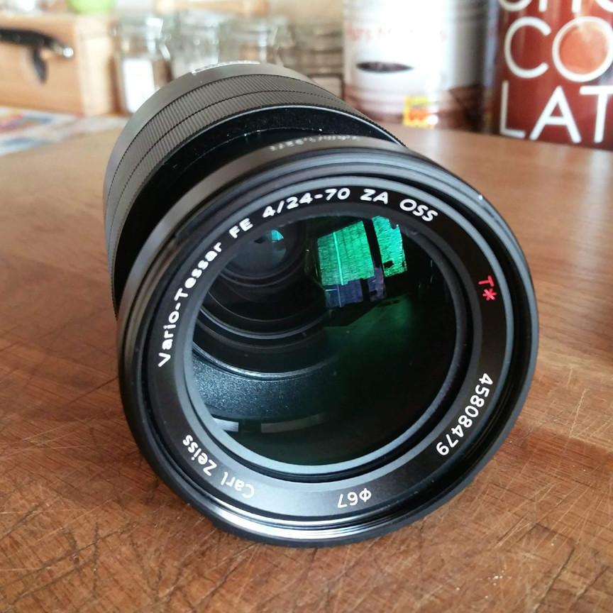 Objectif SONY FE 24-70 MM F/4 Zeiss pour gamme Sony Alpha