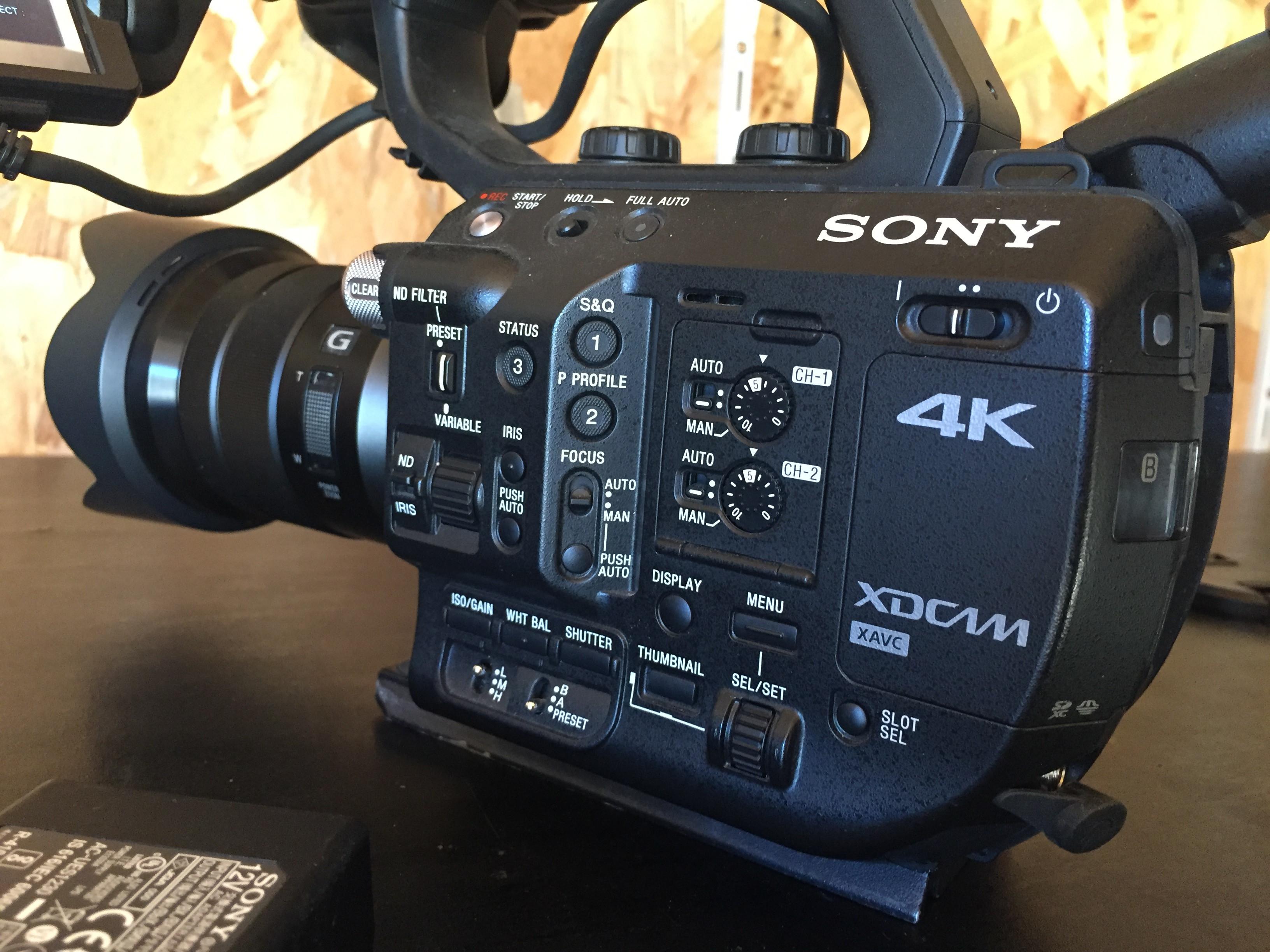 SONY FS5 + 2 optiques