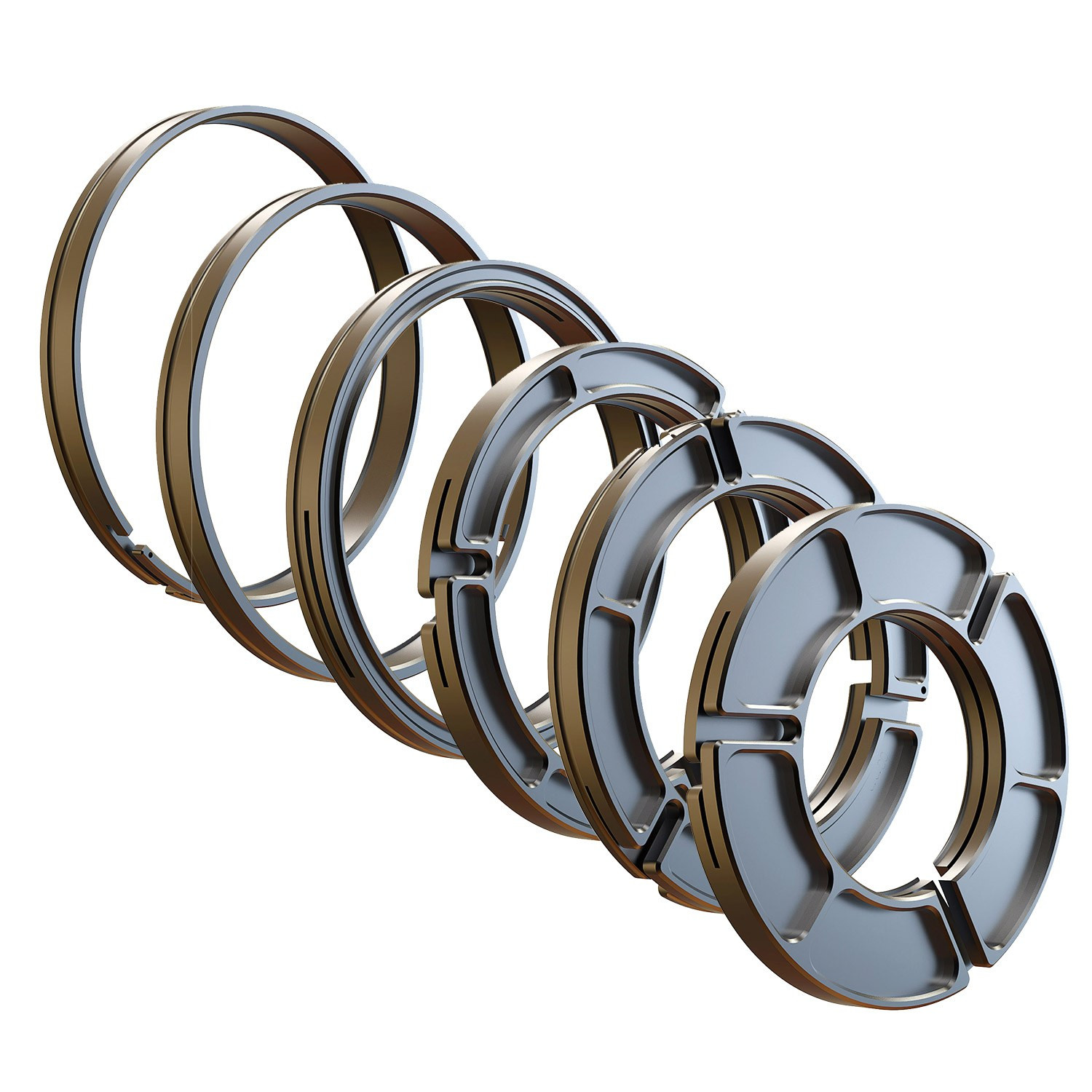 Clamp-on rings