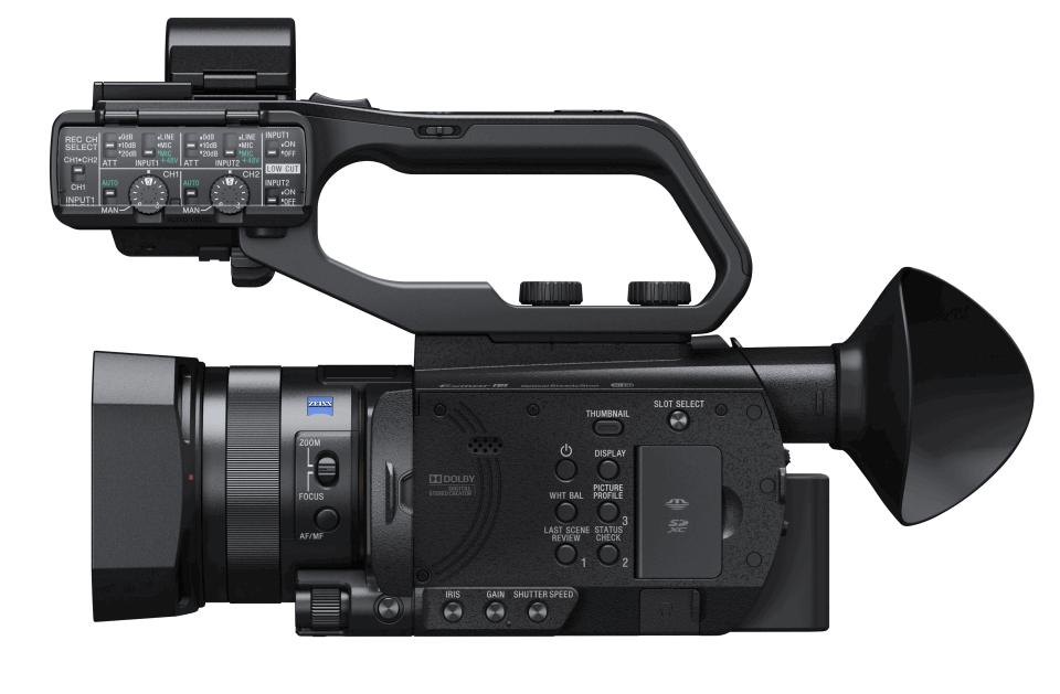 Sony X70 gauche
