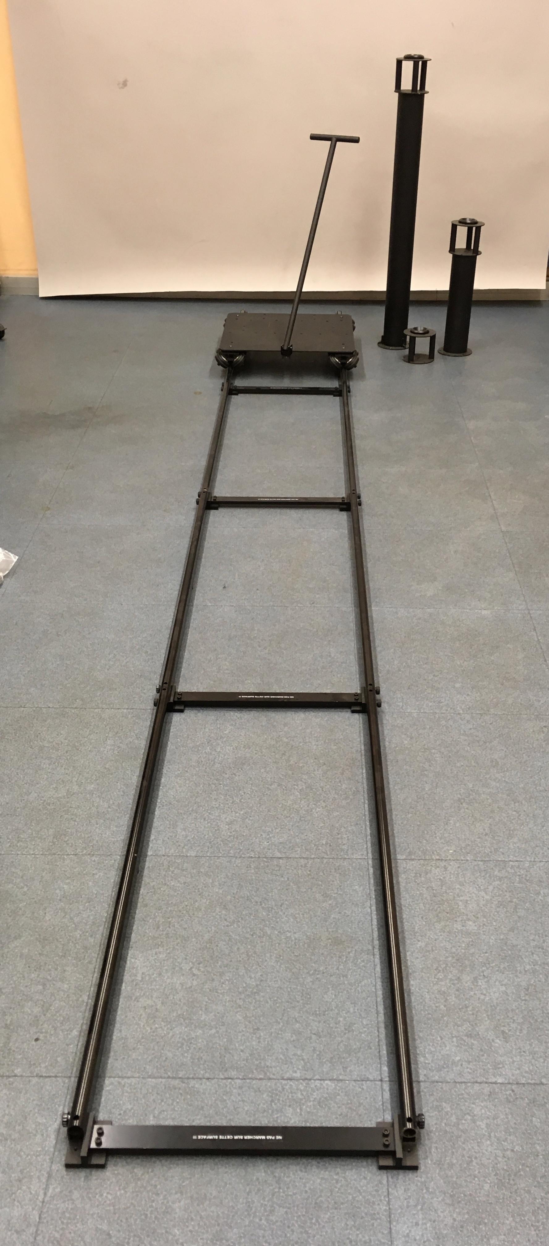 Kit dolly Zolinger DS1000 + 4m de rails
