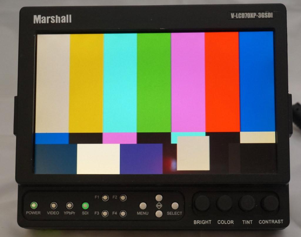 MARSHALL moniteur vidéo V-LCD70XP-3GSDI