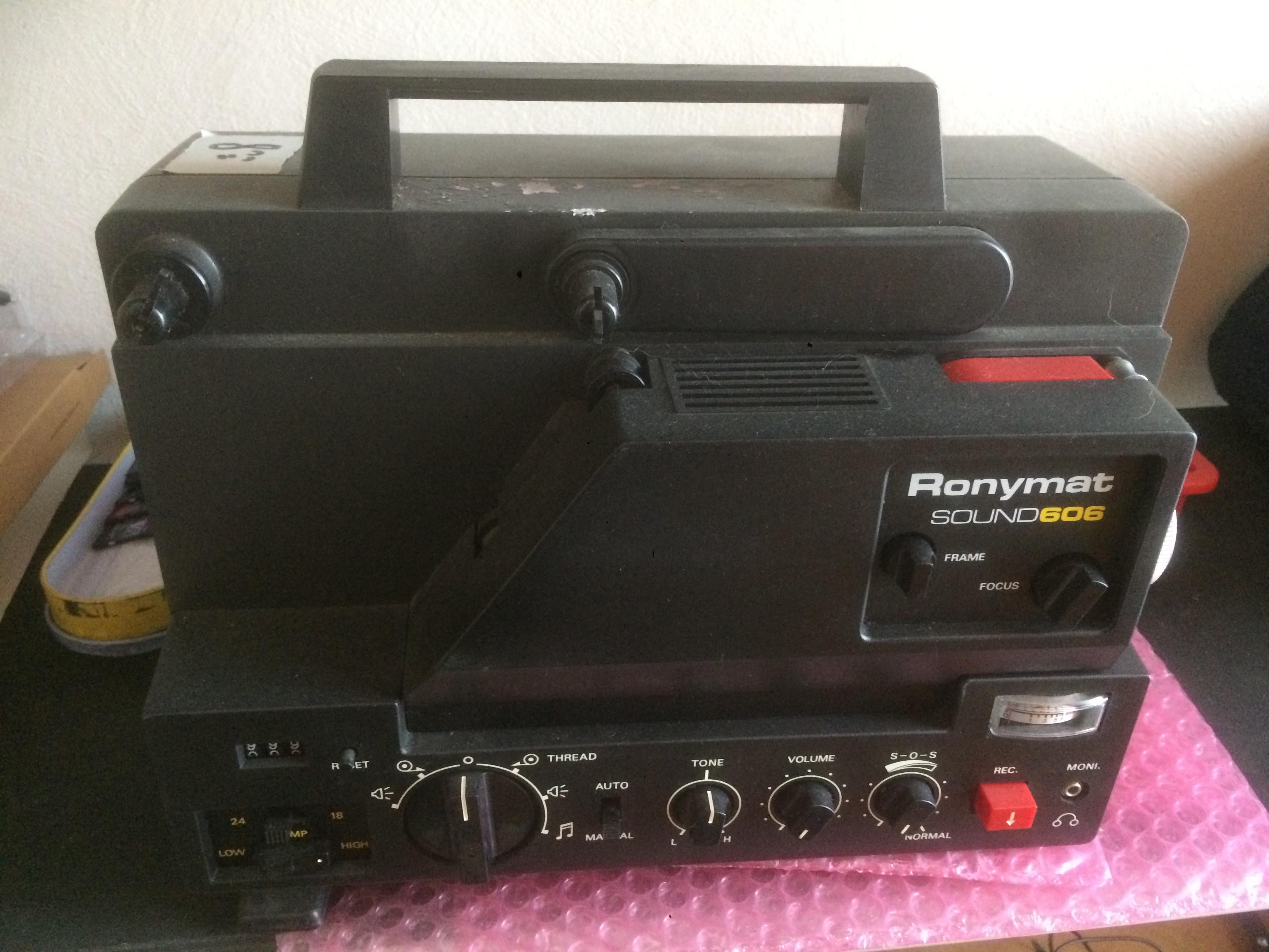 Projecteur RONYMAT SONORE 8mm