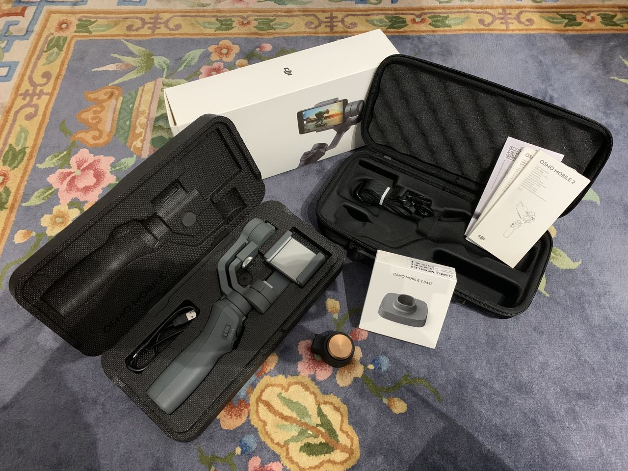 DJI Osmo Mobile 2 + accessoires